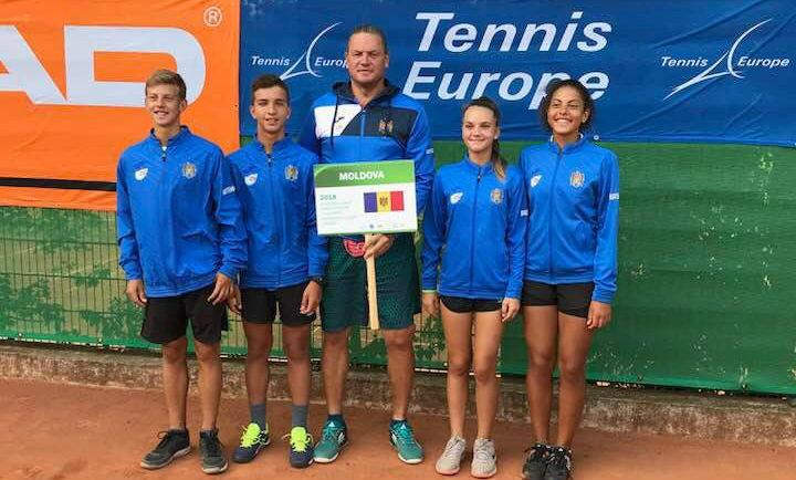 Echipa națională a Moldovei U14 a debutat la European Junior Championships 2018