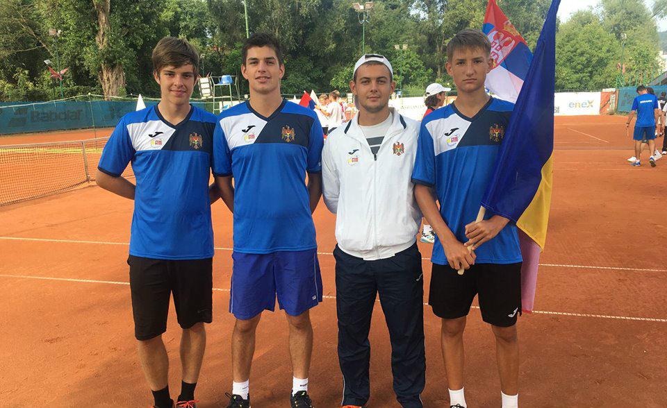 Echipa națională masculină a Moldovei U16 s-a deplasat la Campionatele Europene de Vară 2018