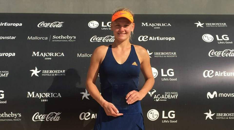 """Alexandra Perper, calificată în sferturi de finală la dublu la """"$25,000 Warsaw"""""""