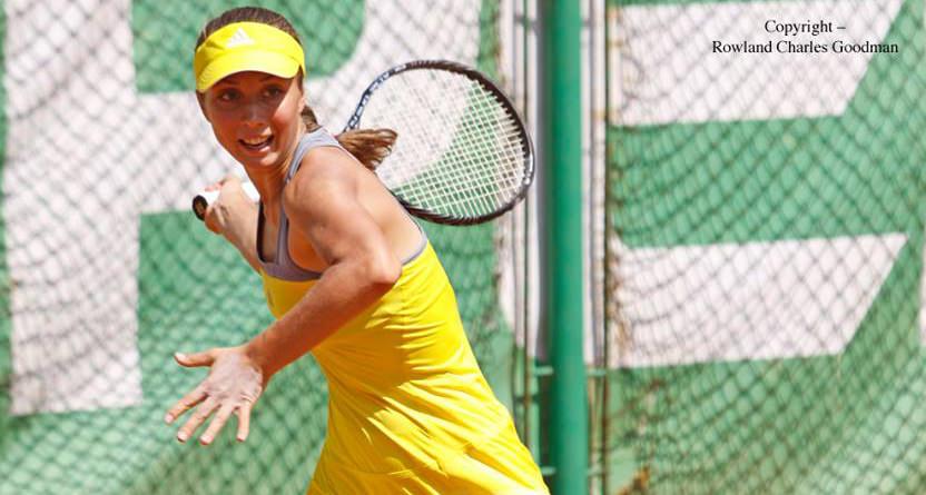 "Anastasia Vdovenco, calificată în runda a doua a turneului ""$15,000 Sharm el Sheikh"""