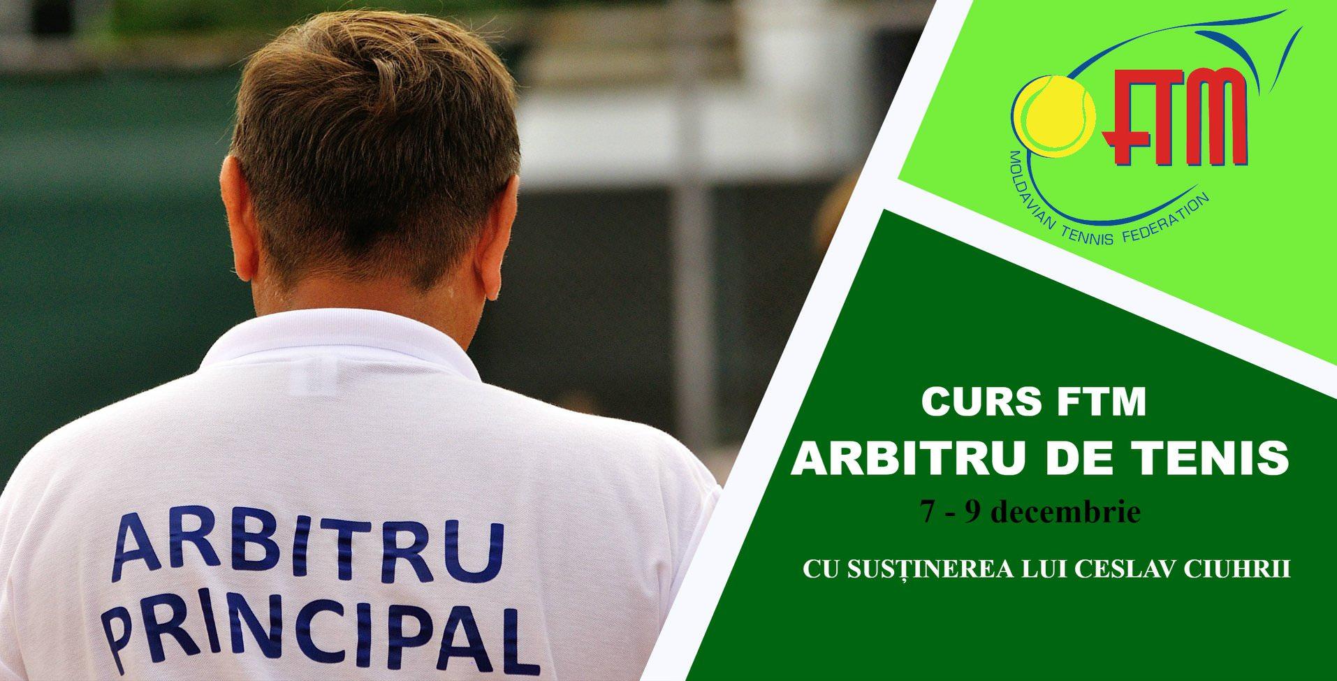 În două zile începe cursul FTM pentru arbitri de tenis!