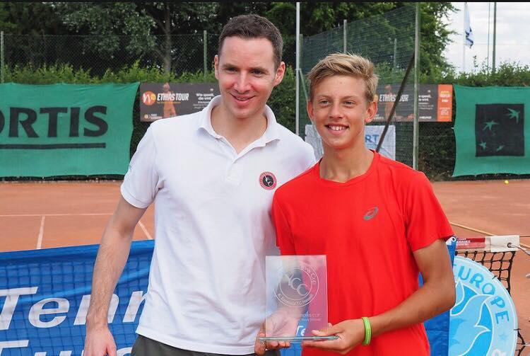 BMW Junior Cup 2018: Maxim Cazac, în semifinală la dublu