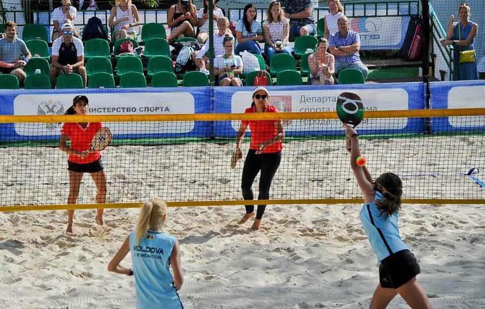 Campionatul mondial pe echipe de Beach Tennis: Moldova – Thailanda 1-2