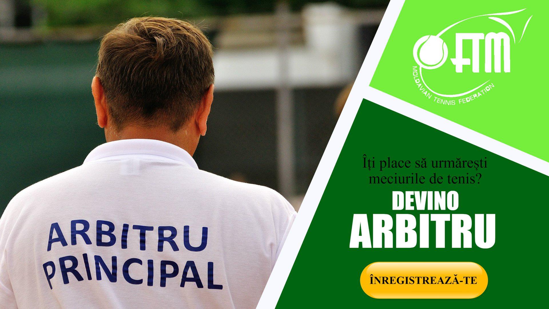 Federația de Tenis din RM lansează un curs pentru arbitri