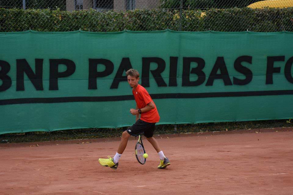 """Ilie Snițari a ocupat locul doi la dublu la turneul ITF """"Aegon Junior Open"""""""