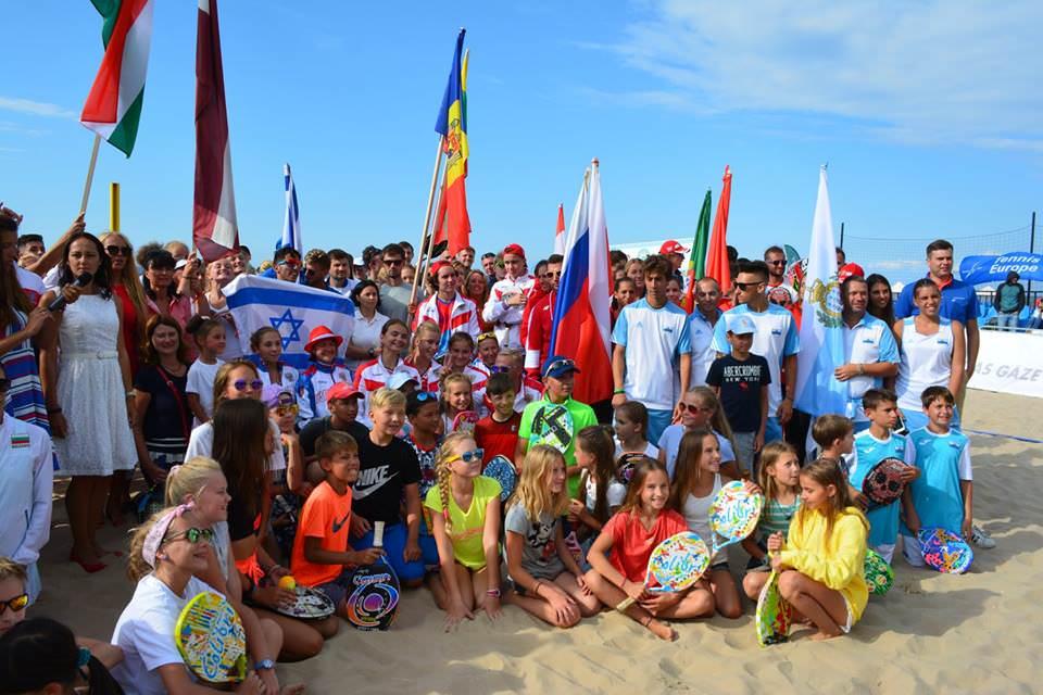 Naționala Moldovei și-a început evoluția la Campionatul European de Beach Tennis