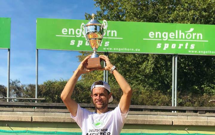 """Radu Albot – campion al Germaniei în componența clubului """"Grun-Weiss Mannheim"""""""