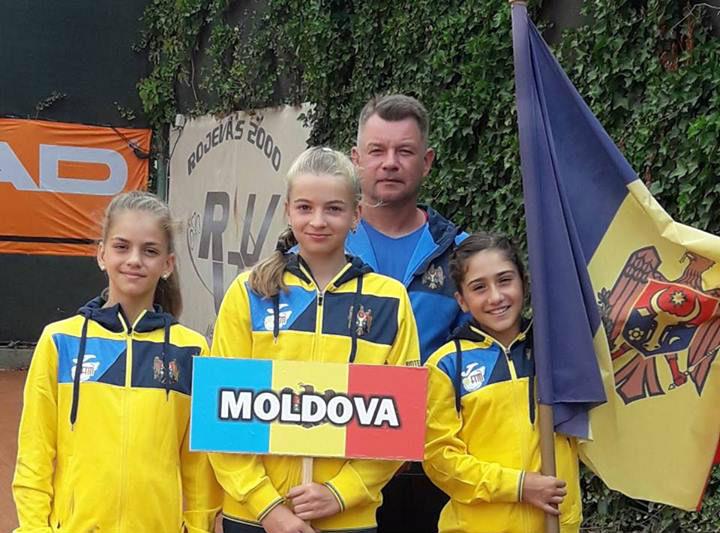 Selecționata feminină a Moldovei U12 participă la Tennis Europe Nations Challenge by Head