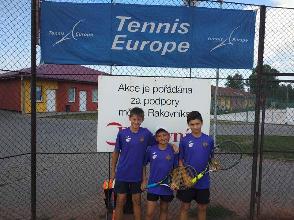 Selecționata masculină a Moldovei U12 participă la Tennis Europe Nations Challenge by Head