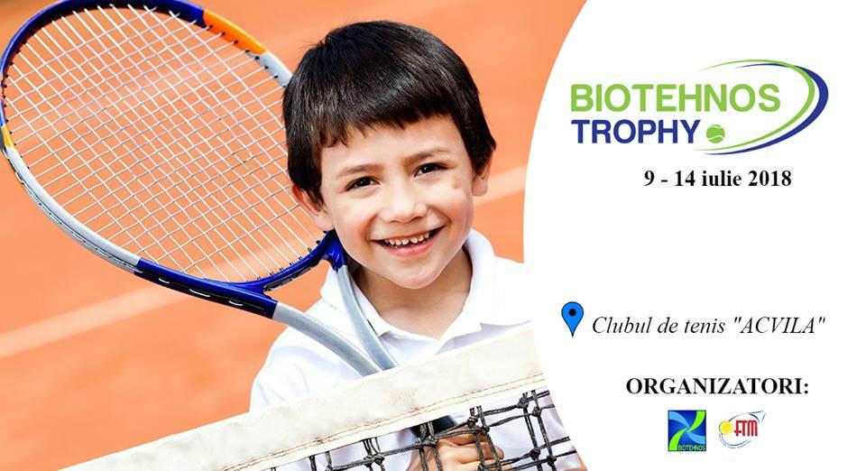 """Turneul național de tenis """"Biotehnos Trophy"""" revine cu o nouă ediție"""