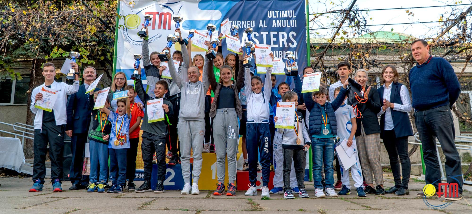 """Ultimul turneu al anului """"Masters RM 2018"""" și-a aflat campionii!"""