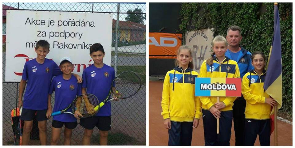 Victoriile jucătorilor de tenis moldoveni la Campionatele Europene 2018