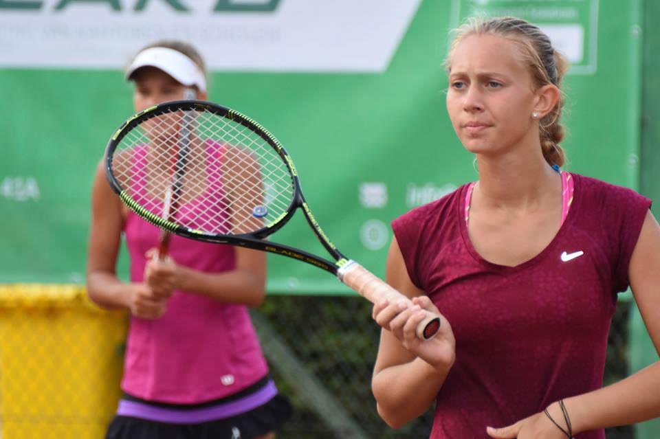 Vitalia Stamat, calificată în runda a doua la dublu la $15,000 Moscow