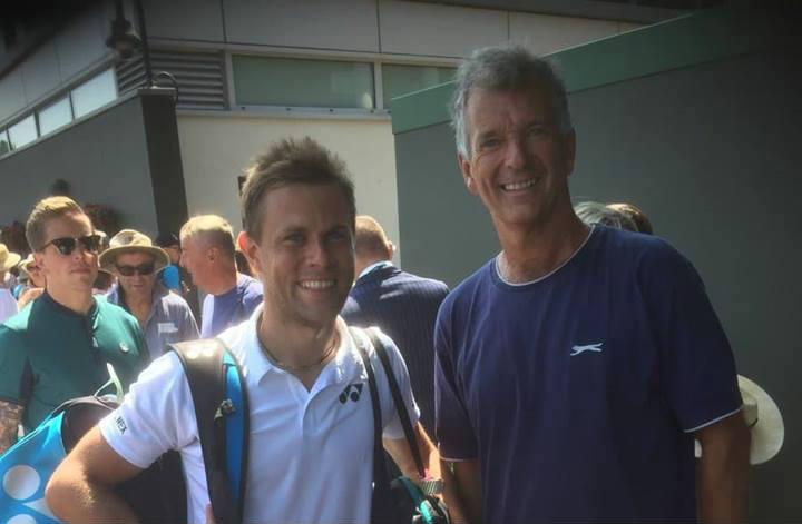 Wimbledon 2018: Radu Albot l-a întâlnit pe scriitorul Tony Hawks