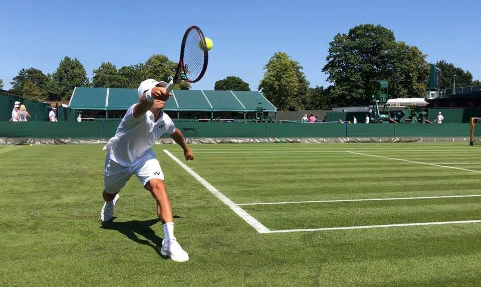 Wimbledon 2018, dublu: Radu Albot se oprește în prima rundă