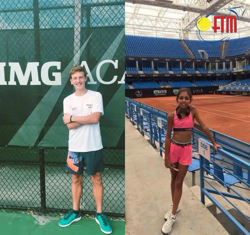 Maxim Cazac și Ella Șahnis își încep evoluția la turneul Orange Bowl