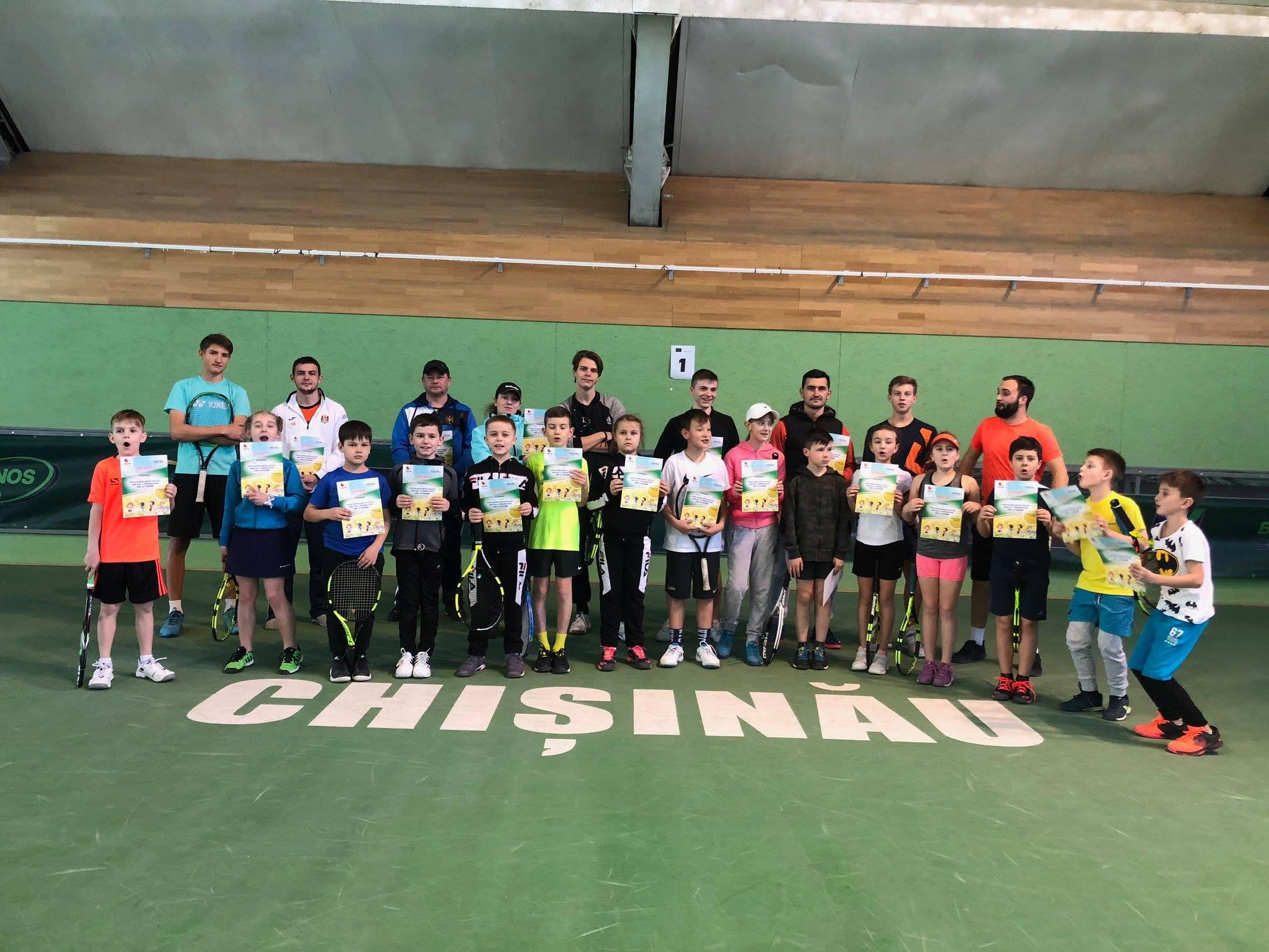 FNTM Tennis 10s Programme a desfășurat primul master-class
