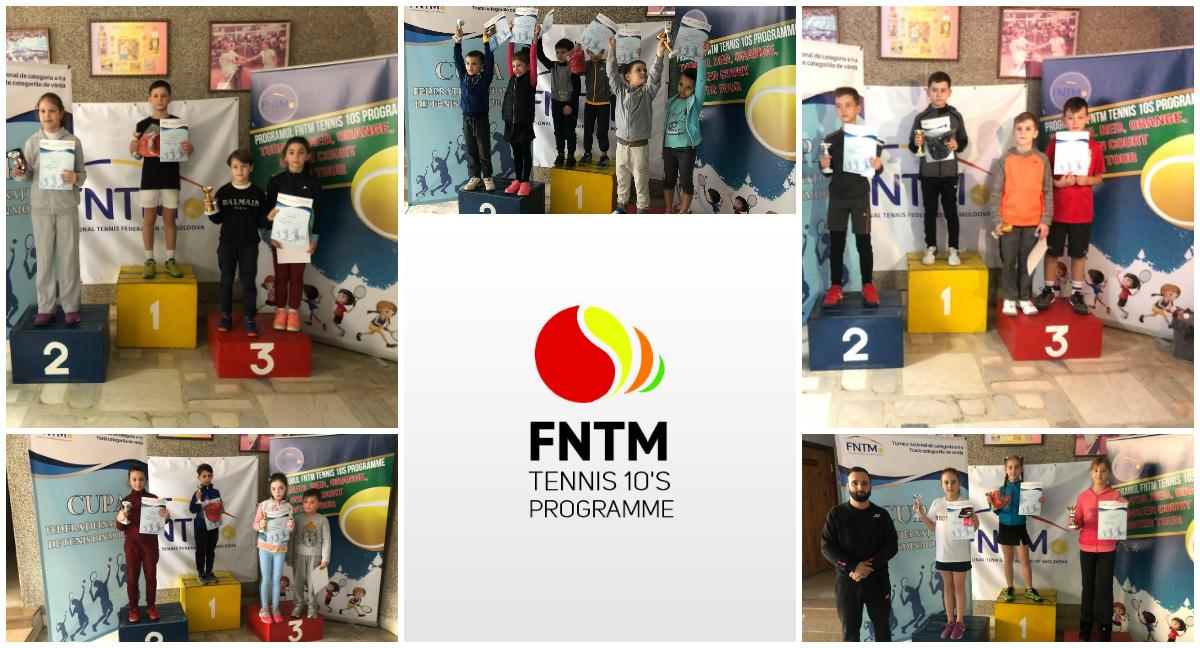 Micii campioni au ridicat trofeele turneului Cupa FNTM 2019