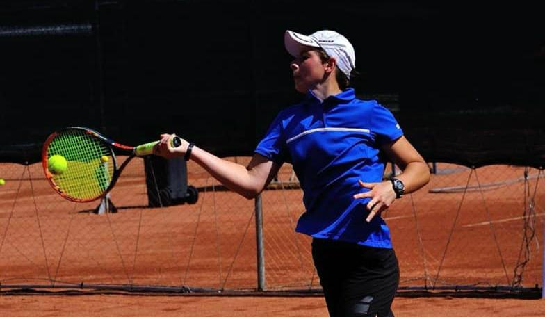 Vlada Haețcaia luptă pentru titlul de campioană la dublu la GD Tennis Cup