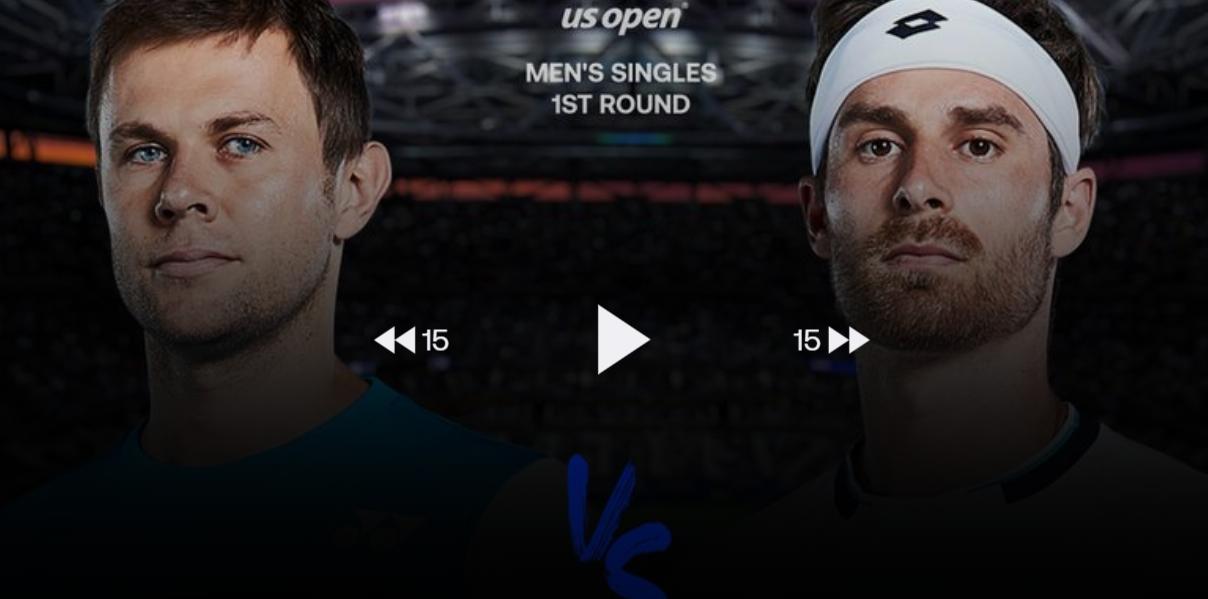 Radu Albot a cedat în prima rundă la US Open 2020 // VIDEO