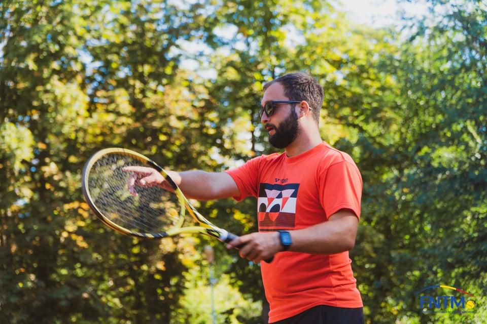"""Eugen CELARSCHI: """"Pregătirea psihologică a unui tenisman are o însemnătate deosebită"""""""
