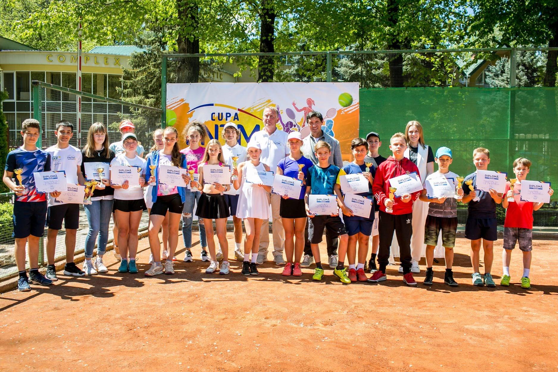 """Turneului național de tenis """"CUPA FNTM-2021"""" și-a desemnat câștigătorii"""