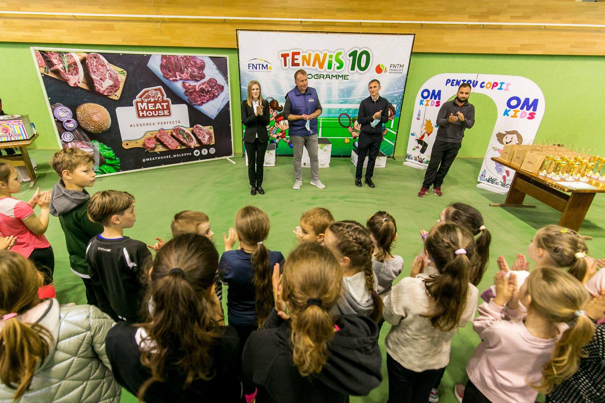 Cupa Copilăriei – un eveniment pentru cei mai mici tenismeni din țară
