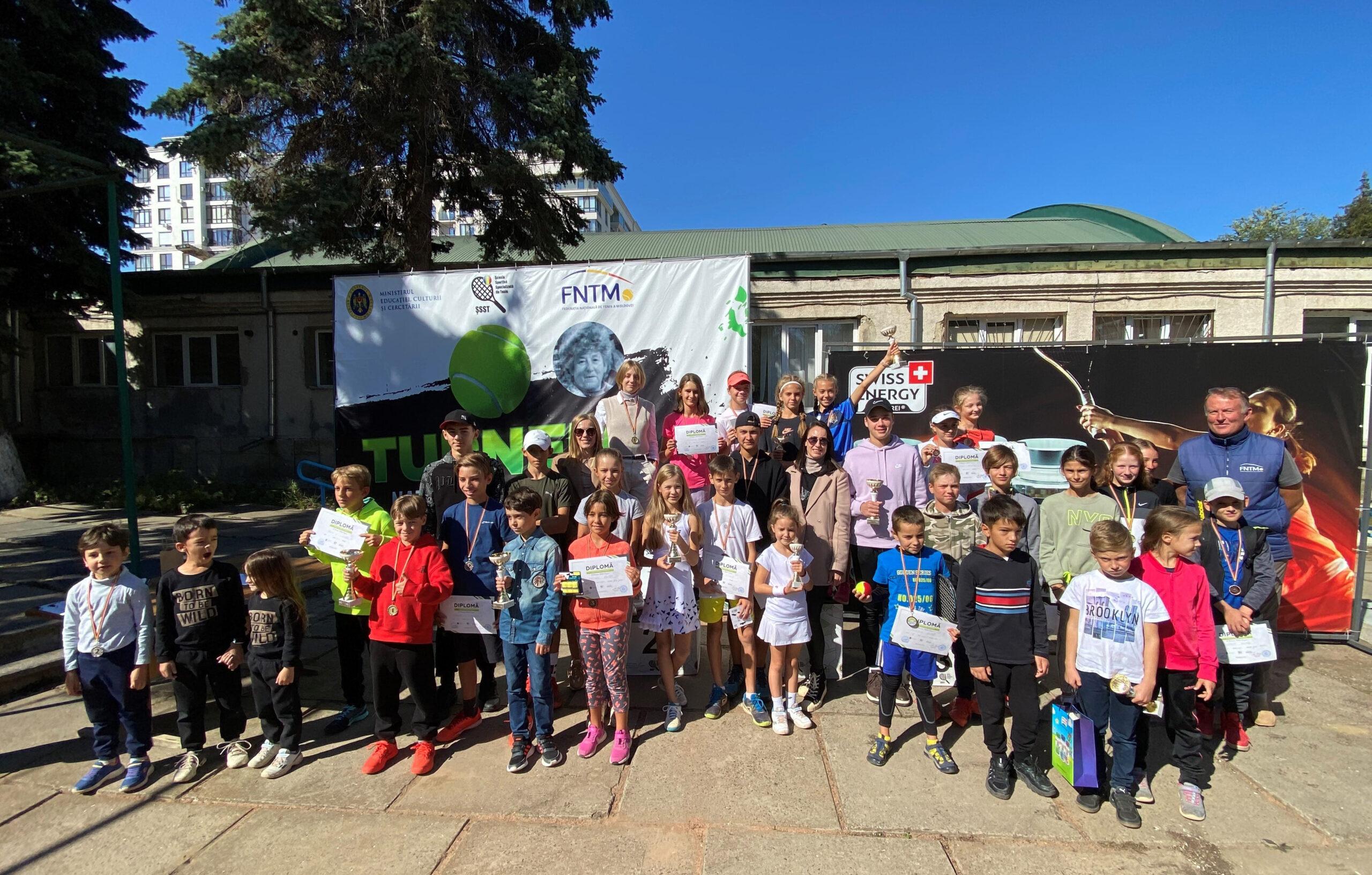 """Turneului Național de Tenis """"În Memoria Natalia Rogova""""  și-a desemnat câștigătorii"""